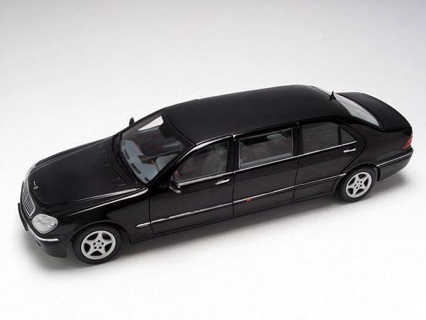 Бронемобиль президента: Лимузин S600 Pul…